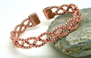 M14: Copper Magnetic Lace Bracelet